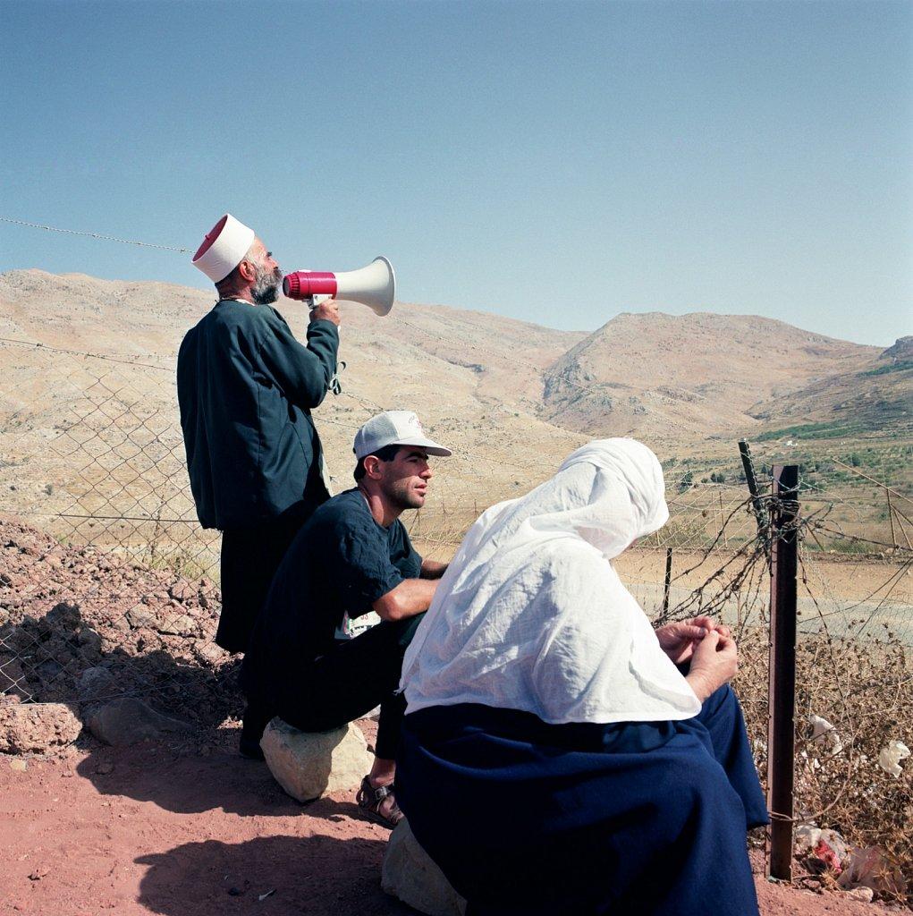 Israel / Syria-border