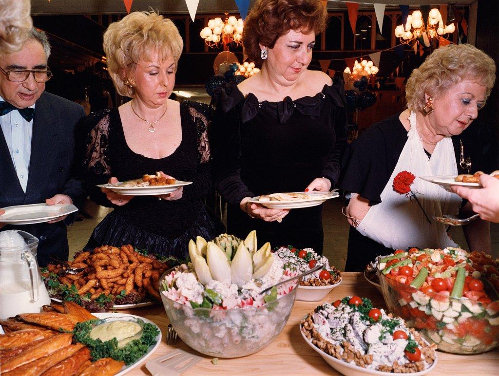 Barmitzvah-buffet