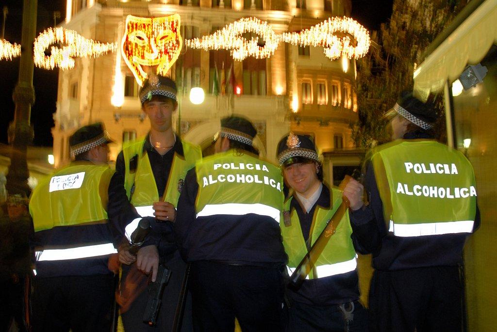 Cadiz- carnival police