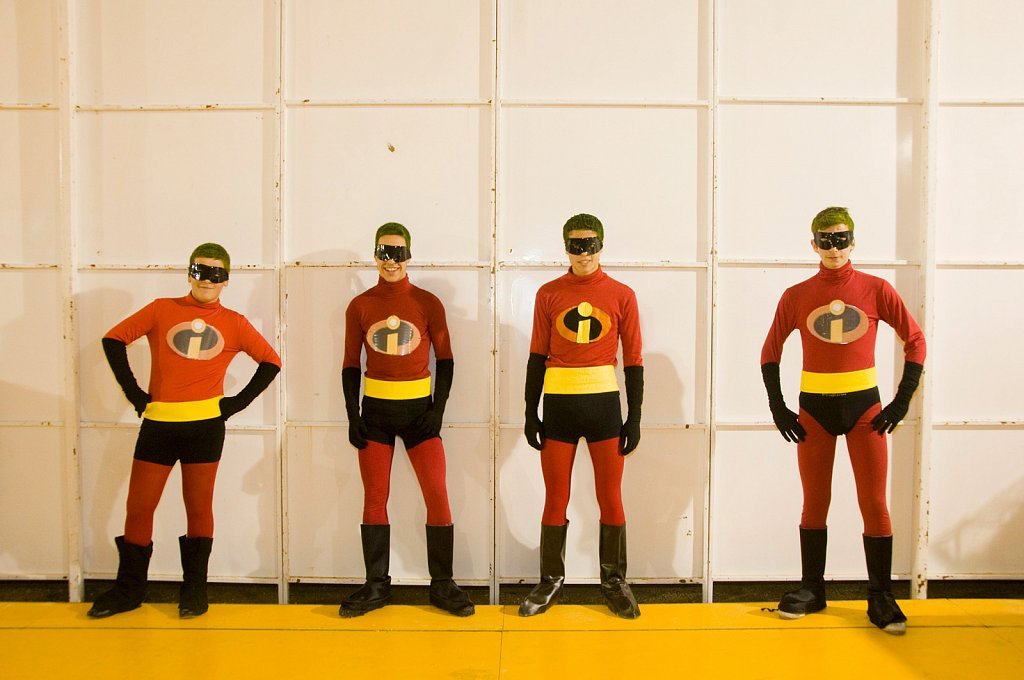Carnival-Barbate the incredibles